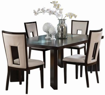 Steve Silver Delano Table & 4 Chairs