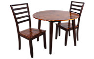 Steve Silver Abaco Drop Leaf Table & 2 Chairs