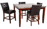 Steve Silver Montibello Counter-Height 5-Piece Dining Set