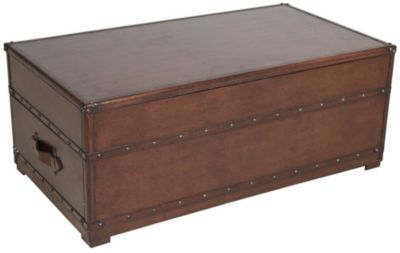 Steve silver jayden lift top trunk coffee table homemakers furniture Silver trunk coffee table