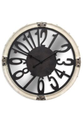 Stylecraft Mirrored Wall Clock