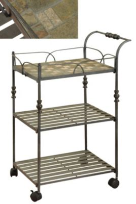 Stylecraft 3-Tier Serving Cart