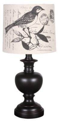 Stylecraft Bird Shade Table Lamp