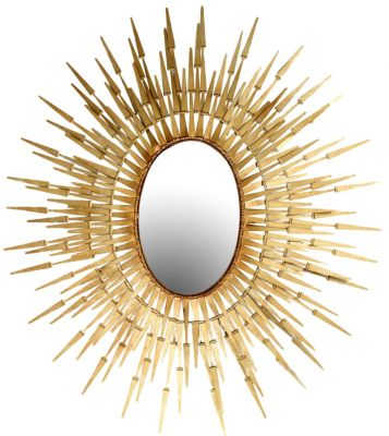 Stylecraft Gold Metal Mirror