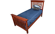 Surewood Oak Mission Full Bed