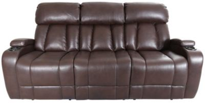 Synergy Baron Power Reclining Sofa with Drop-Down Table