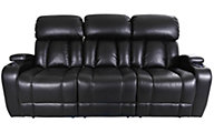 Synergy Baron Power Reclining Sofa with Drop Down Table