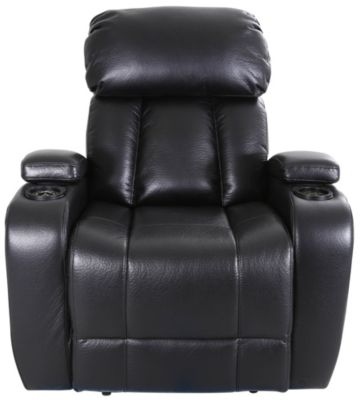 Synergy Baron Black Power Wall Recliner