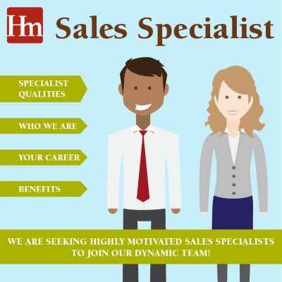 Sales Specialist Infographic