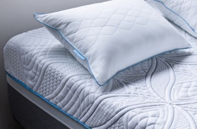 Sealy mattress with plush pillow