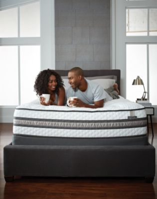 Couple Enjoying a New Serta Mattress