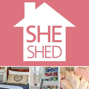 She Shed Infographic