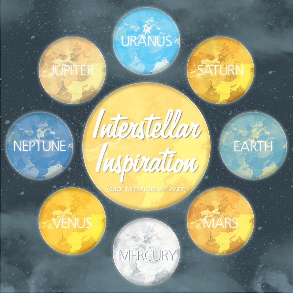 Interstellar inspiration is the latest home décor trend. Explore all our celestial chic furniture and accessory finds!