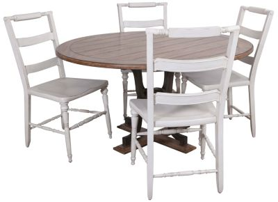 Thomasville Scandia Table & 4 Side Chairs