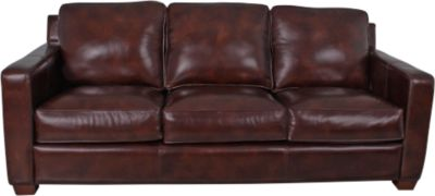 Thomasville Metro 100% Leather Sofa