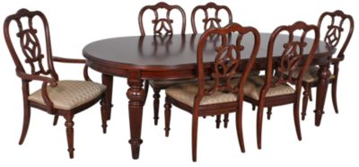 Thomasville Fredricksburg 7 Piece Oval Leg Dining Set