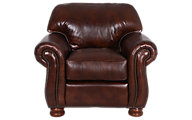 Thomasville Benjamin 100% Leather Chair