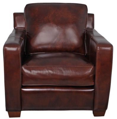 Thomasville Metro 100% Leather Chair