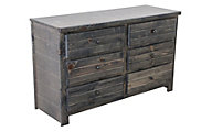 Trend Wood Bayview Rustic Gray Dresser