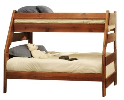 Trend Wood Sedona High Sierra Twin Full Bunk Bed