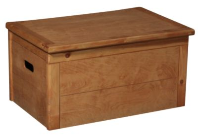 Trend Wood Bunkhouse Solid Pine Toy Chest