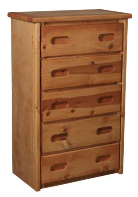 Trend Wood Bunkhouse Solid Pine Chest