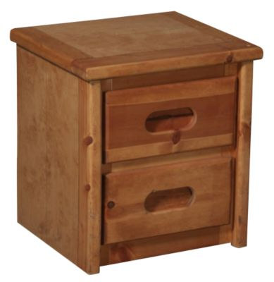 Trend Wood Bunkhouse Solid Pine Nightstand