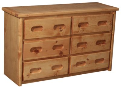 Trend Wood Bunkhouse Solid Pine Dresser