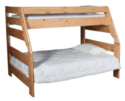 Trend Wood Bunkhouse Twin/Full Bunk Bed