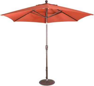 Treasure Garden 9-Foot Button-Tilt Patio Umbrella