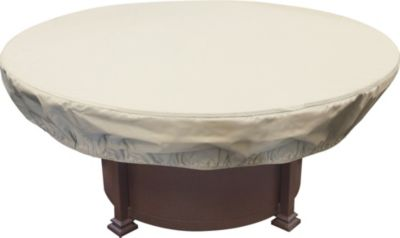 Treasure Garden Round Fire Pit Cover (48-54 inches)