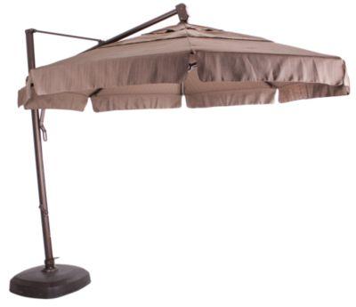Treasure Garden 13 39 Octagonal Cantilever Umbrella With Base Homemakers Furniture