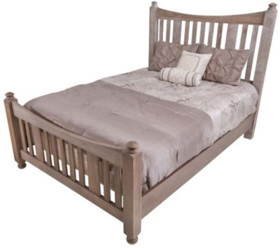 Vaughan Bassett Furniture Maple Road Queen Poster Bed