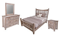Vaughan Bassett Furniture Maple Road 4-Piece Queen Bedroom Set