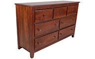 Vaughan Bassett Furniture Amish Cherry Loft Dresser