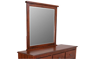Vaughan Bassett Furniture Amish Cherry Loft Mirror