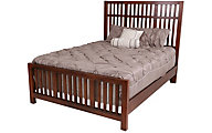 Vaughan Bassett Furniture Amish Cherry Queen Craftsman Bed