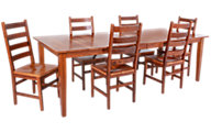 Woodco 7 Piece Solid Cherry Dining Set