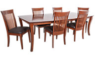 Woodco 7-Piece Solid Cherry Dining Set