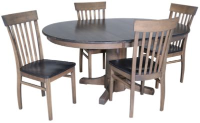 Woodco Solid Maple Table & 4 Chairs