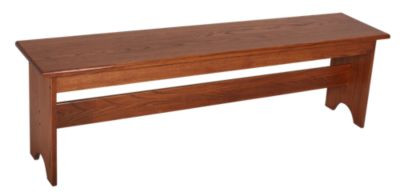 Woodco Solid Oak Bench