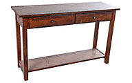 Woodco Cherry Loft Solid Oak Sofa Table
