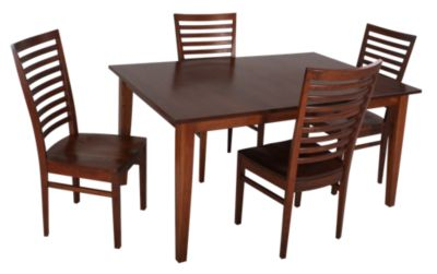 Woodco 5-Piece Solid Cherry Dining Set