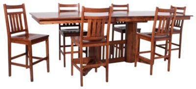 Woodco 6-Piece Solid Oak Counter Set