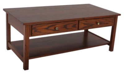 Woodco Loft Solid Wood Coffee Table with Drawer