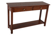 Woodco Loft Solid Wood Sofa Table with Drawer