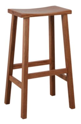 Woodco 1900 Collection Solid Oak Bar Stool