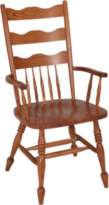 Woodco Solid Oak Arm Chair