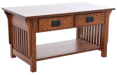 Woodco Mission Solid Wood Coffee Table