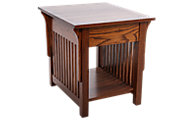 Woodco Mission Solid Wood End Table